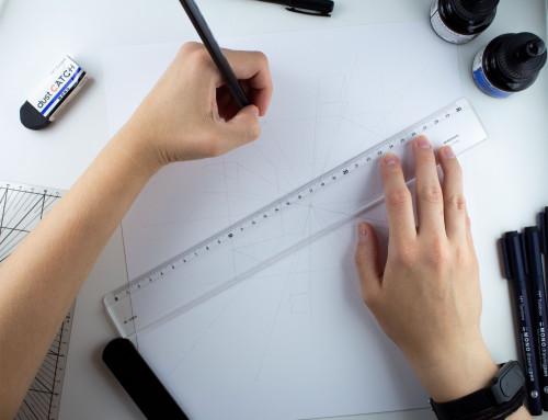 """""""Ink meets Geometry"""" Zeichen-Workshop"""