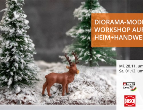 Diorama Making Workshop at the Heim+Handwerk Fair 2018
