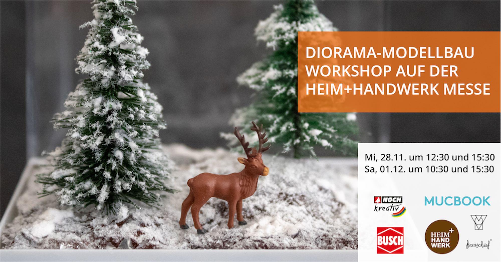 Diorama Making Workshop at the Heim+Handwerk Fair 2018